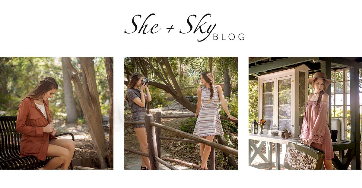 She + Sky Blog
